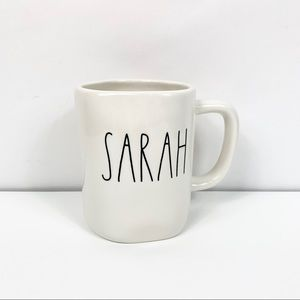 Rae Dunn Sarah Name Coffee Mug Cup